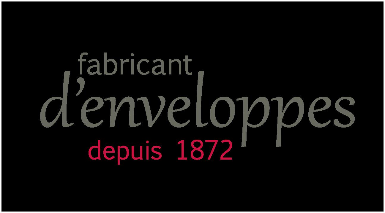 Logo fabricant d'enveloppes depuis 1872